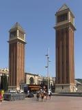 Venetian towers Royalty Free Stock Image