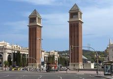 Venetian towers Stock Images