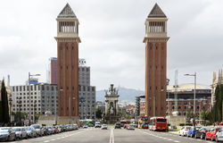 Venetian towers Royalty Free Stock Images
