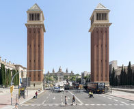 Venetian towers Royalty Free Stock Photos