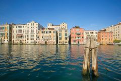 Venetian townhouses Stock Photos