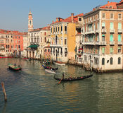 Venetian traffic Stock Image