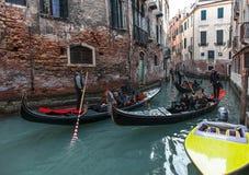 Venetian Traffic Royalty Free Stock Photography