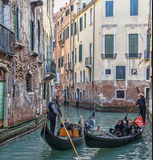 Venetian Traffic Royalty Free Stock Photos