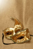 Venetian two carnival mask Stock Photography