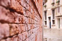 venetian vägg Arkivfoto