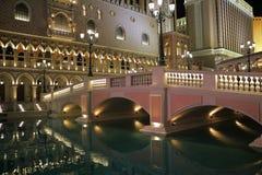 Venetian vatten Arkivfoto