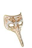 venetian white för guldmaskering Arkivbild