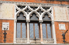Venetian window Stock Images