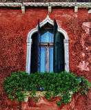 Venetian window Stock Photography