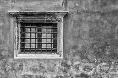 Venetian Window, Italy. Detail of an old window in Venice, Italy Stock Photos