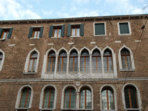 Venetian windows Royalty Free Stock Photo
