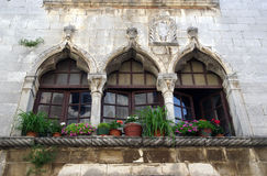 Free Venetian Windows In Porec,Croatia Stock Photo - 66953480