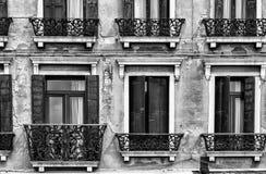 Venetian Windows, Italy Stock Images