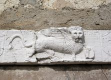 Venetian winged lion Royalty Free Stock Image