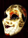 Venetian woman mask Stock Images