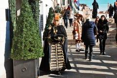 Venetianisch-ähnliche Maske, der Venedig-Karneval ist eine von den berühmtesten in der Welt, sein charakteristisches sind die Mas stockfotografie