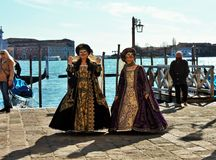 Venetianisch-ähnliche Maske, der Venedig-Karneval ist eine von den berühmtesten in der Welt, sein charakteristisches sind die Mas lizenzfreies stockbild