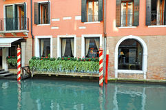 Venetianische Architektur stockfoto