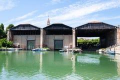 Venetianische Arsenal Arsenale-Di Venezia Lizenzfreie Stockfotos
