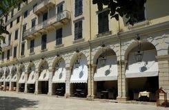 Venetianische Art, die Korfu Griechenland errichtet Lizenzfreie Stockbilder