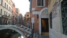 Venetianische Brücke Lizenzfreie Stockfotos