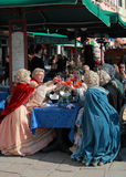 Venetianische Feier lizenzfreies stockbild