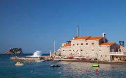 Venetianische Festung Castello in Montenegro Lizenzfreies Stockfoto