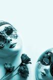 Venetianische Gesichtsmaske Lizenzfreies Stockbild