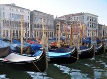 Venetianische Gondeln Lizenzfreie Stockbilder