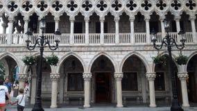 Venetianische gotische Architektur in Epcot, Disney& x27; s-Welt Stockbilder