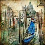 Venetianische Kanäle Lizenzfreies Stockfoto