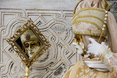 Venetianische Karnevals-Maske Lizenzfreie Stockfotos