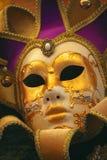Venetianische Karnevals-Schablone Lizenzfreie Stockbilder