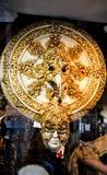 Venetianische Karnevals-Schablone Lizenzfreie Stockfotografie