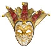Venetianische Karnevals-Schablone Stockbild