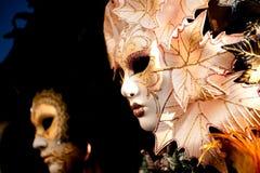 Venetianische Karnevals-Schablonen Stockfotografie