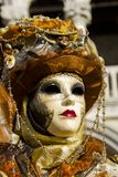 Venetianische Karnevalsmaske Stockfotografie