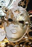 Venetianische Karnevalsmaske Lizenzfreie Stockfotos