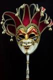 Venetianische Karnevalsschablone Lizenzfreie Stockfotografie
