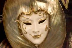 Venetianische Karnevalsschablone, Venedig Stockbild