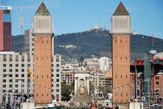Venetianische Kontrolltürme Stockbilder