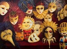 Venetianische Masken Lizenzfreie Stockfotos
