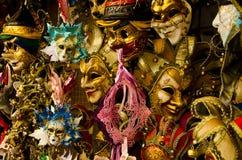 Venetianische Masken Stockfoto