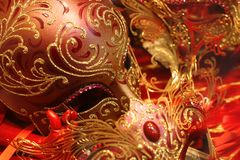 Venetianische Schablone Lizenzfreies Stockbild