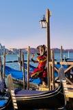 Venetianische Schablone Stockfotografie