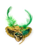 Venetianische Schablone des Karnevals Lizenzfreies Stockfoto