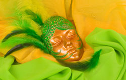 Venetianische Schablone für Karneval Lizenzfreies Stockbild