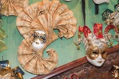 Venetianische Schablonen Stockfotos
