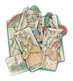 Venetianische Schablonen Lizenzfreies Stockfoto